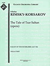 The Tale of Tsar Saltan (opera) (Flight of the Bumblebee (Act III)): Viola part (Qty 4) [A1926]