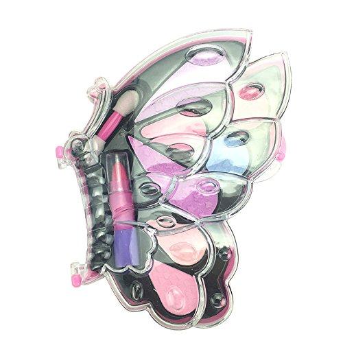 SPEEDEVE Kosmetik Spielzeug Kit Kinder Mädchen Schmink Set Make-up Paletten