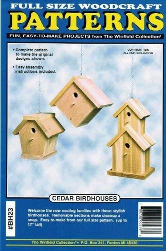 Cedar Birdhouses Woodworking Plans