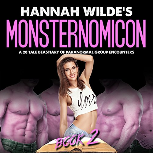 Hannah Wilde's Monsternomicon audiobook cover art