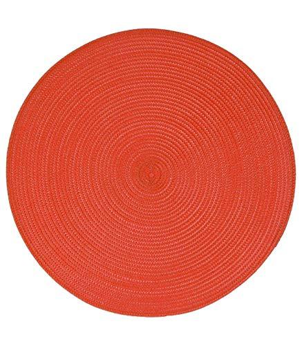 Izaneo - Set de table rond rouge