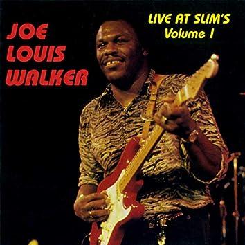 Live At Slim's: Vol. 1 (Live At Slim's / San Francisco, CA / 1990)