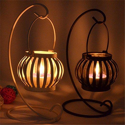 Bazaar Kaarsenhouders Lantaarn Glas IJzeren Kunst Kaarsenhouder Candelabrum Kandelaar Thuis Decor Gift