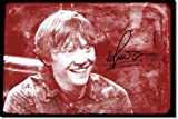 TPCK Rupert Grint Kunstdruck (mit signierter Autogramm