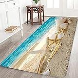 Magic Box Shell Starfish Hallway Runner Rugs Non-Skid Area Rug Bathroom Rug 24''x71''