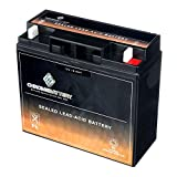 Replacement 12V 18AH Sealed Lead Acid Battery (SLA) - Rechargeable - Chrome Battery