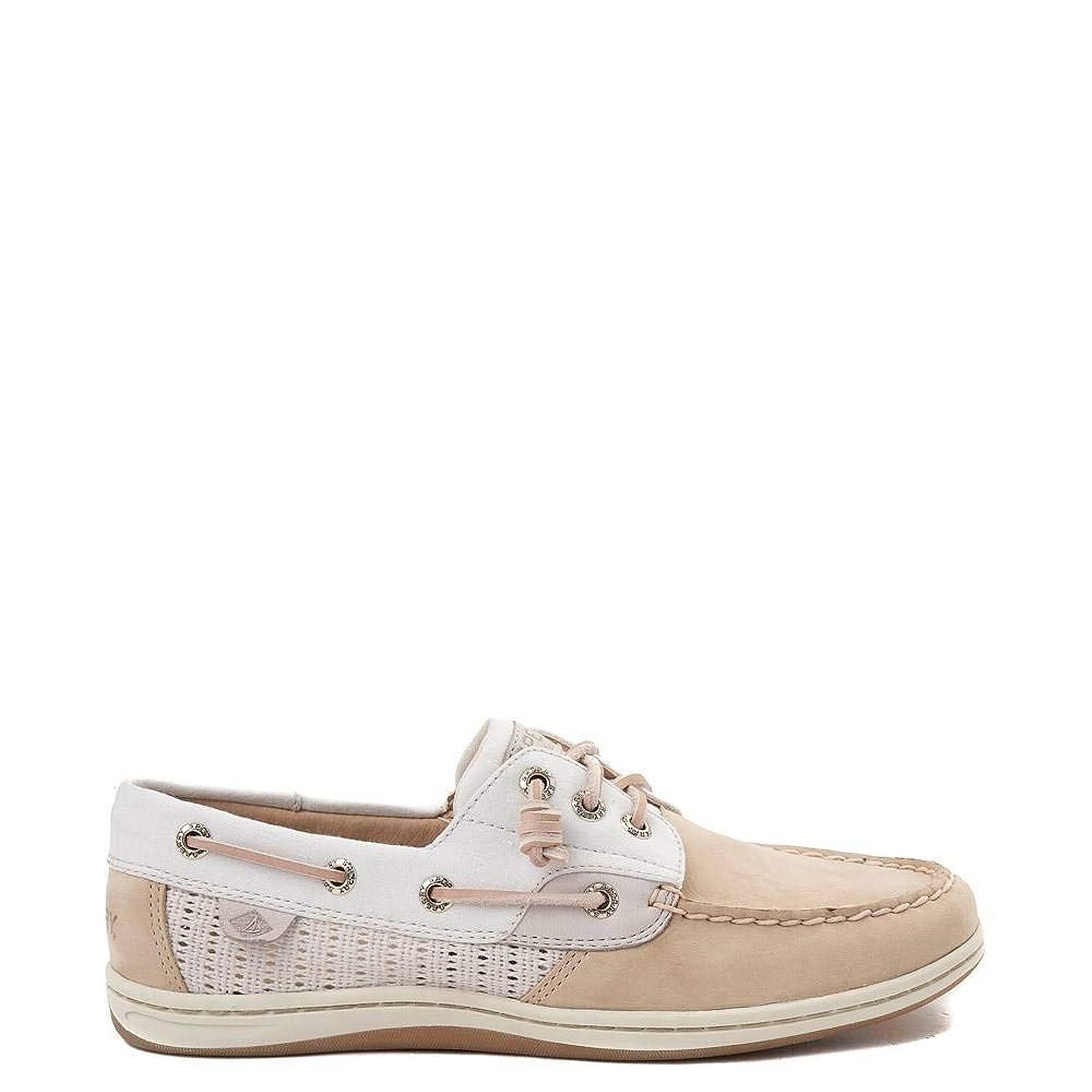 使役マイクロ黒[スペリートップサイダー] [Sperry Top-Sider レディース靴?ボートシューズ Songfish Boat Shoe Linen/Oat リネン/オーツ US 6(23cm) [並行輸入品]