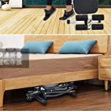 FYYDNR Rudergerät, Fitnessgeräte, Seine Bewegung Track ist Stabiler als das Traditionelle Rudergerät, Produkt-Größe-125 * 135 * 56CM, weiß - 3