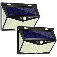 2-Pack Enkman Wireless Motion Sensor LED Solar Lights