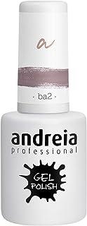 Andreia Esmalte de Uñas de Gel Semipermanente - Color BA2 Rosa - Sombras de Roja - 105 ml