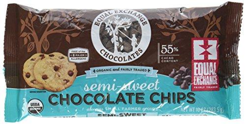 Equal Exchange Organic Chocolate Chips Semi Sweet 10 oz