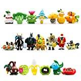 20 Piece Plants vs Zombies 2 Figure Toys Set, Mini PVC Giant Zombies Toys, Great Gifts for Kids and Fans,Birthday and Party