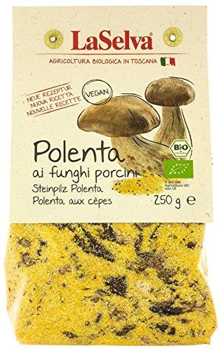 LaSelva Bio Polenta ai funghi, Polenta mit Steinpilzen, 250 g