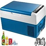 Moracle Refrigerador Portátil 22LNevera Portátil para Coche Refrigerador Doméstico Refrigerador del Automóvil