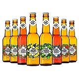 The Good Cider Mixta - Sidra de manzana, pera, frutos del bosque y limón, Sidra Natural de Sabores – Caja 12 botellas x 33 cl