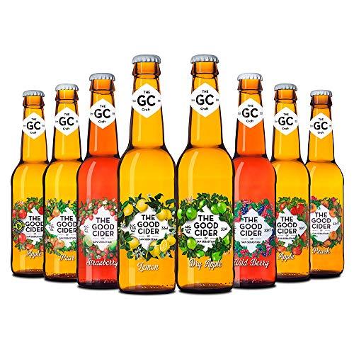 The Good Cider of San Sebastian Mixta - Caja de 12 x 33 cl