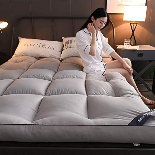 J-Kissen Verdicken 10cm Tatami Bodenmatte, Weich Futon Schlaf Pad Tatami Boden Matratze, 3D Matratze Schlafeinzelbett-Matten-Bett-Kissen (Color : D, Size : 100x200cm(39x79inch))