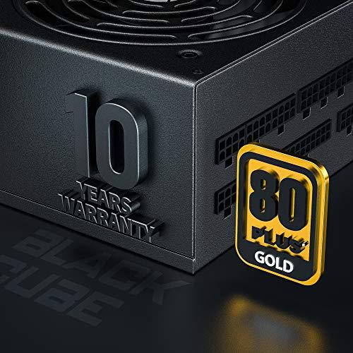ARESGAME AGT1000 1000W Totalmente Modular 80+, Oro Certificado PC Poder Suministro