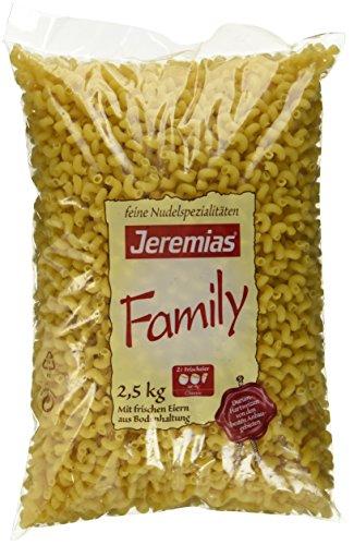 Jeremias Drelli, Family Frischei-Nudeln, 1er Pack (1 x 2.5 kg Beutel)
