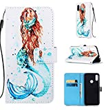 Lomogo Leather Wallet Case for Xiaomi Redmi Note 7/Note 7Pro/Note 7S with Stand Feature Card Holder Magnetic Closure, Shockproof Flip Case Cover for Xiaomi Redmi Note7 Pro - LOYBO450501 L1