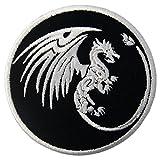 Parche termoadhesivo para la ropa, diseño de Símbolos del dragón Poder