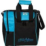 KR Strikeforce Rook Single Bowling Ball Tote Bag, Aqua