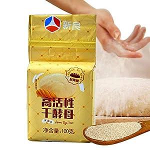 Gowsch 100G levadura de pan de elevación seca, activa, alta tolerancia a la glucosa, elevación de cocina y suministros de cocina