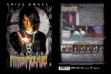 Mindfreaks by Criss Angel - Volume 4 - DVD