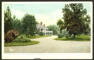 Casino Roger Williams Park Providence RI postcard 1908