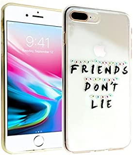 iPhone 7 8 PLUS CASEMPIRE Stranger Things Friends Don't Lie Durable TPU Case Shock Proof Never Fade Slim Fit Cover - Friends Don't Lie IP 7 8 PLUS TPU