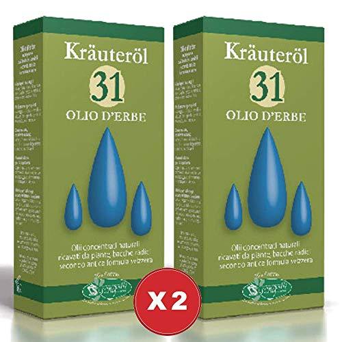 Olio 31 Krauterol 2 Confezioni da 100ml Sangalli