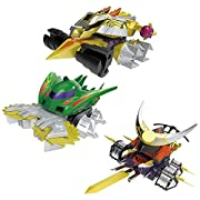 SMP[SHOKUGAN MODELING PROJECT]クラッシュギアBATTLE1-EX2 鎧輝&ディノスパルタン&轟月セット