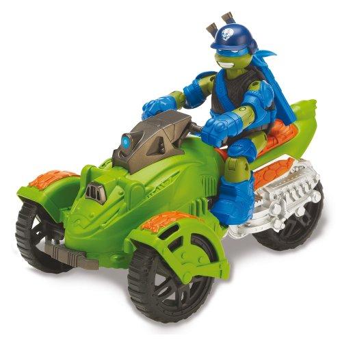 Tortugas Ninja - Vehículo AT3 y Leonardo