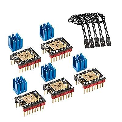 TMC2208 V3.0 Stepper Motor Driver ModuleUART Mode with Heat Sink Driver for 3D Printer