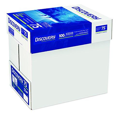 Recycelbares Papier, A4, 70g/m² 5 x Reams (2,500 Sheets) - 1 x Box