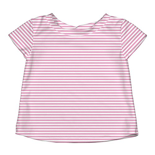 i play. by green sprouts baby girls Rash Guard Shirt, Light Pink, 18 Months US