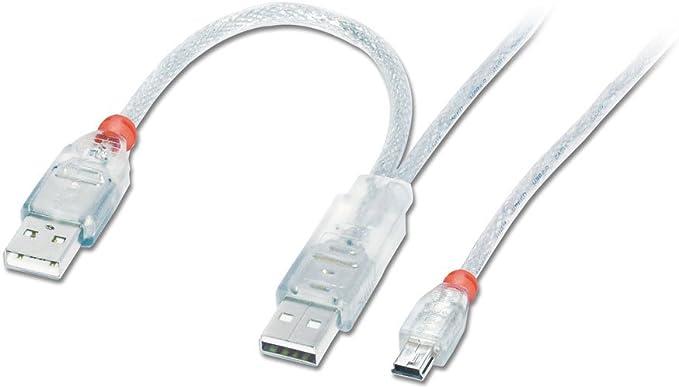 Lindy 31784 Usb 2 0 Dual Power Y Kabel 2 X Typ A Computer Zubehör