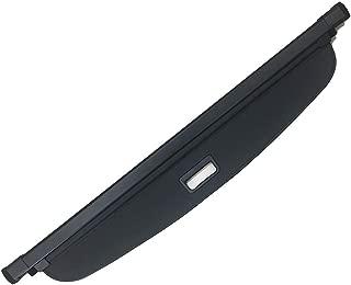 Kaungka Cargo Cover Compatible with 2011-2018 Dodge Durango Black Retractable Trunk Shielding Shade