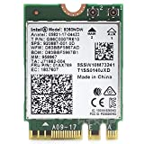 MQUPIN Intel Wireless AC 9260NGW Card,NGFF Dual Band WiFi Card,High Speed 2.4/5GHz 1730Mbps WiFi + Bluetooth 5.0 802.11ac Card for Linux/ Google Chrome OS/Windows 10