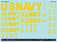 A-72175 1/72 アメリカ海軍 F6F ヘルキャット & F8F ベアキャット ブルーエンジェルス「40'S ブルース」 MYK DESIGN [アシタのデカール]