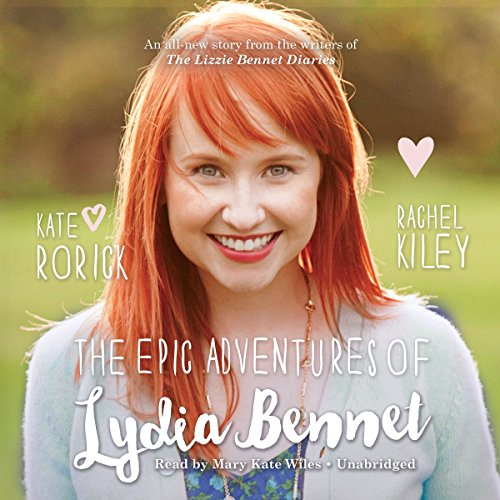 The Epic Adventures of Lydia Bennet audiobook cover art