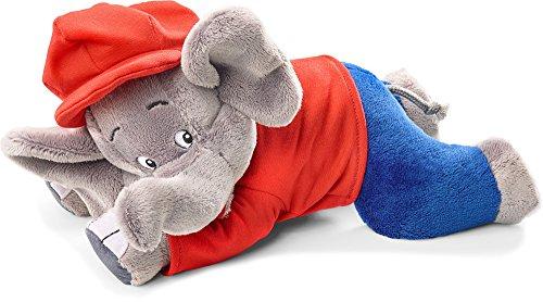 Schmidt Spiele 42250 Benjamin The Elephant 42250-Benjamin Blümchen, liegend, 27 cm