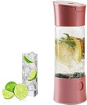 HXZB Soda Siphon Maker Portable Bouteille Seltzer Gazéifiée Boissons Eau Gazeuse Maison Machine, sans CO2 Cylindre Inclure...