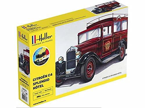 DataPrice Heller 56713 - Maqueta Coche C4 Splendid Hotel - Escala 1:24 - Pintura incluida.