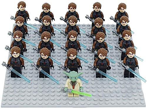 Star Wars Star Wars Figuras de acción 209 Stormtrooper VS Jabba The Hutt Rancor Playsets Darth Vader Yoda Mandalorian Chewbacca Black Series Toy Luke Skywalker Estatua Regalo Niño-090 Yoda