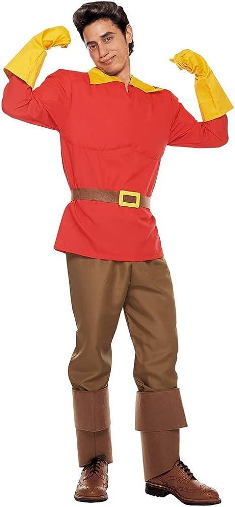 Adult Gaston Costume - Teen Standard Under Max 85% OFF blast sales Men's Red Size