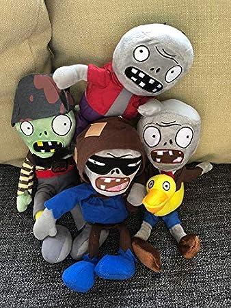 Tacumo PVZ Plush Baby Toy Stuffed Soft Doll Zombie Plush Family Pack Family B