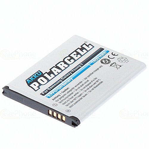 cellePhone PolarCell batería Li-Ion para Samsung Galaxy Young 2 (SM-G130) (reemplazado EB-BG130BBE)