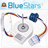 Ultra Durable WR60X10307 WR60X10074 Evaporator Fan Motor Replacement Part by Blue Stars - Exact Fit for GE Hotpoint Refrigerators - Replaces 1550741 AP4438809 WR60X10224 PS2364950