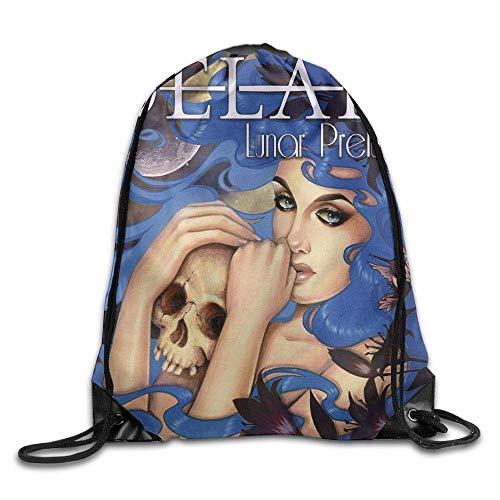 NA Delain - Lunar Prelude Ep Unisex Drawstring Gym Sack Ort Bag